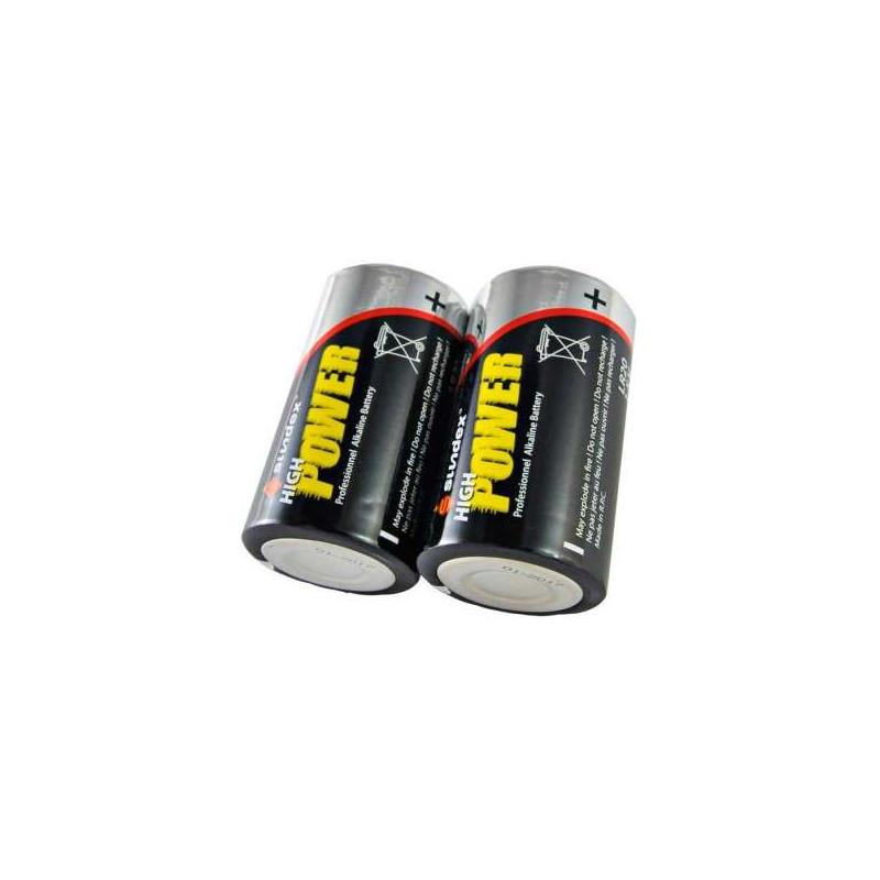 Pack de 2 Piles LR20 Super Alcaline...