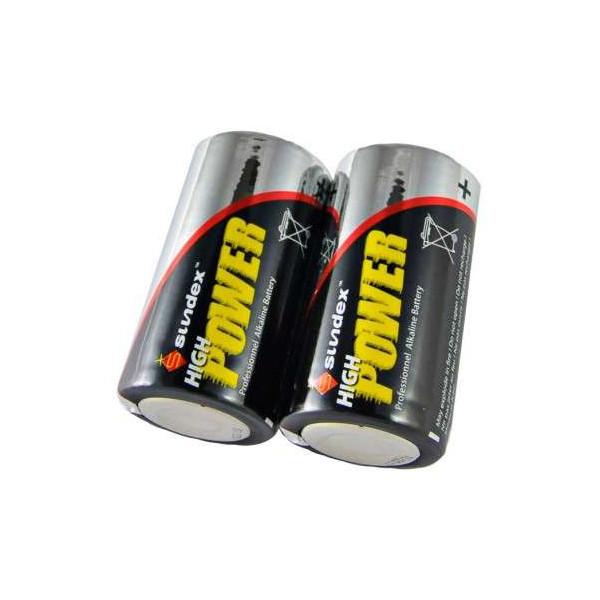 Pack de 2 Piles LR14 Super Alcaline 1,5V SUNDEX