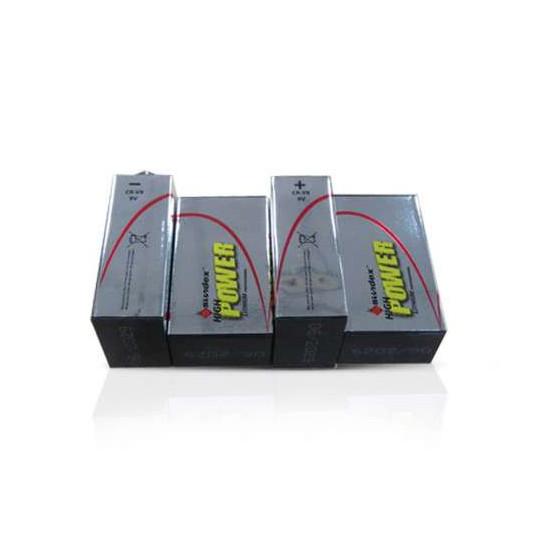 Pile LR61  9V  Super lithium SUNDEX