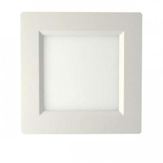 Plafonniers LED 150x150mm 10W blanc équivalent 100W