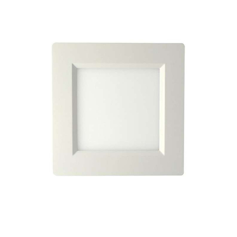 Plafonniers LED 150x150mm 10W blanc équivalent 100W