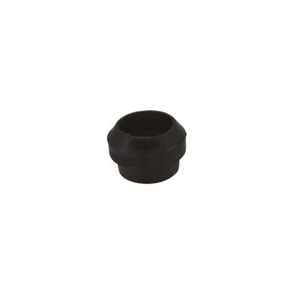 Joint silicone étanche pour guirlande foraine câble plat noir 10M