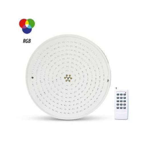 Projecteur LED Piscine PAR56 18W AC12V RGB + Télécommande RF