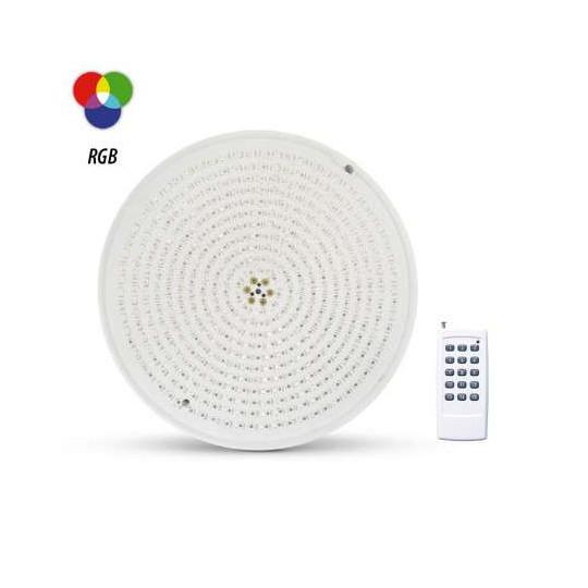 Projecteur LED Piscine PAR56 32W AC12V RGB + Télécommande RF