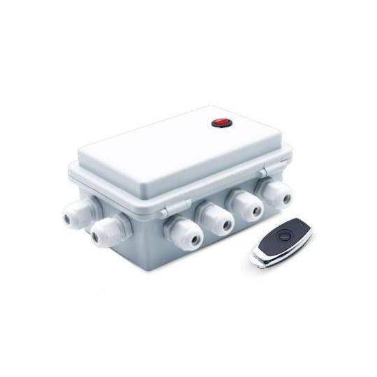 Boitier de Contrôle ON/OFF pour Projecteur Piscine LED PAR56 6 Sorties