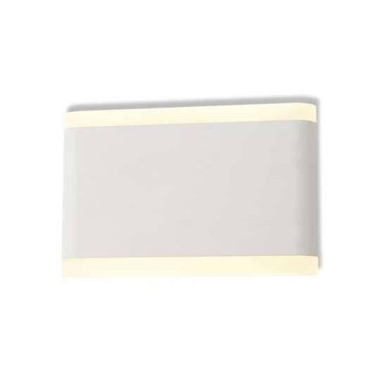 Applique Murale LED 10W Blanche IP54 - Blanc Chaud 3000K