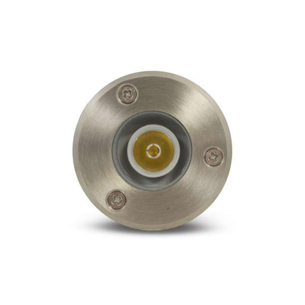 Spot encastrable LED Rond 3W 61mm IP67 - Blanc Chaud 3000k