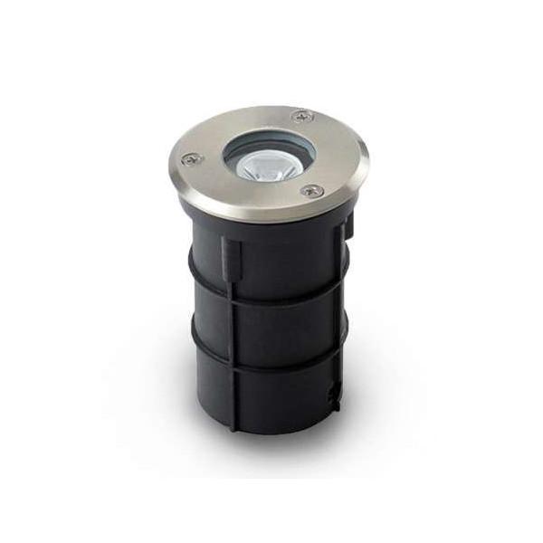 Spot encastrable LED Rond 3W 61mm IP67 - Blanc Naturel 4000K