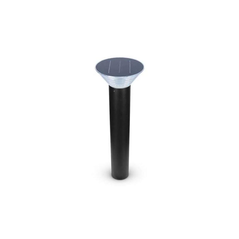 Potelet LED Solaire 4 W Noir 80cm...