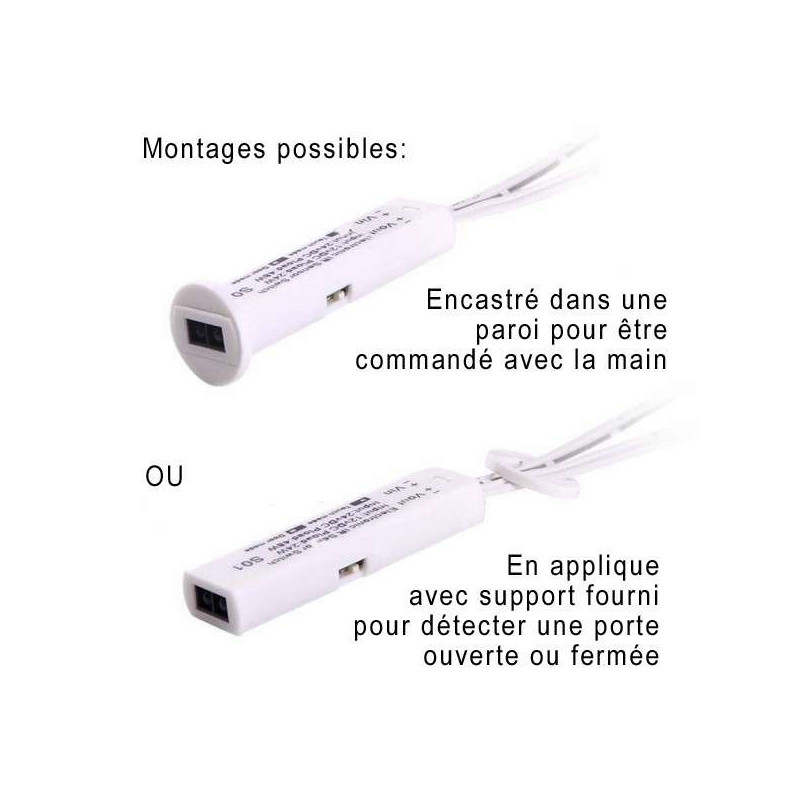 Interrupteur infrarouge pour ruban LED