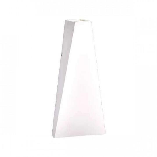 Applique LED murale 6W étanche IP54 Blanc - Blanc Chaud 3000K