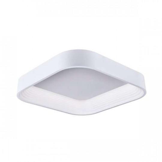 Spot saillie LED 38W carré Blanc - Blanc Chaud 3000K