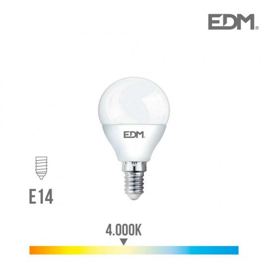 Ampoule LED E14 7W équivalent à 45W - Blanc Naturel 4000K