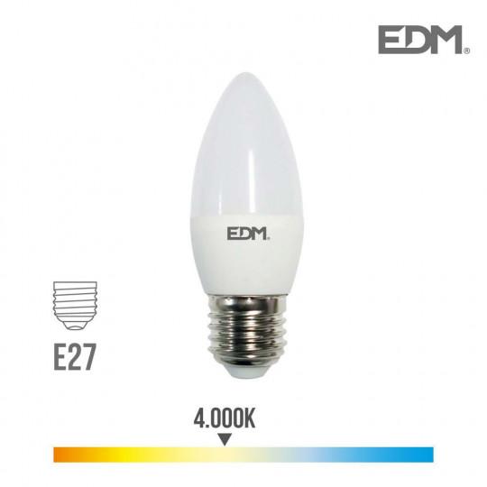 Ampoule LED E27 5W équivalent à 35W - Blanc Naturel 4000K