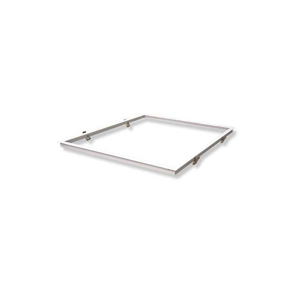 Kit Encastrable Placo pour Dalle LED 600x600mm Aluminium Blanc
