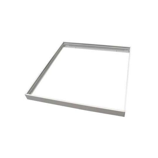 Cadre automatique pour installation saillie dalle LED 600x600 Blanc