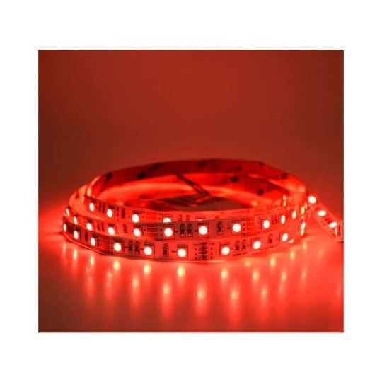 Ruban LED 60 LED/m IP20 14,4W/m Rouge 5m 12V