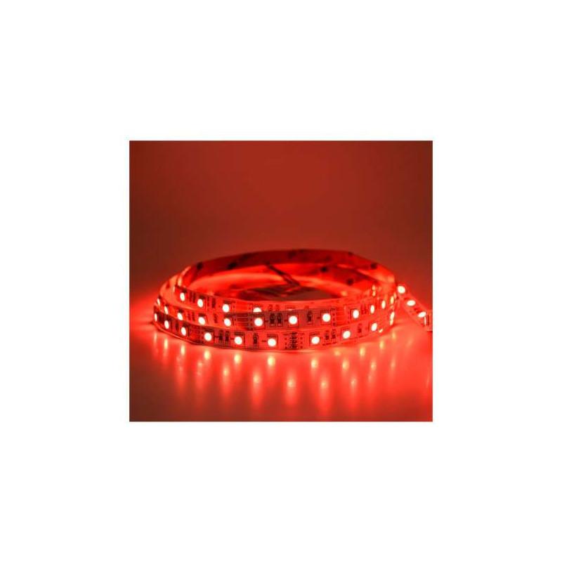 Ruban LED 60 LED/m IP20 14,4W/m Rouge...