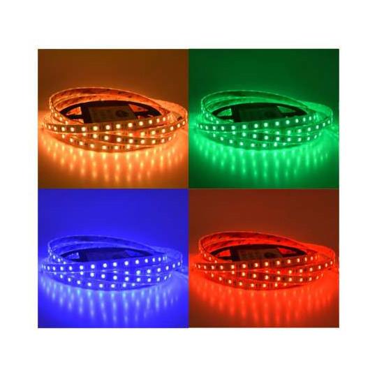 Ruban LED 60 LED/m IP67 14,4W/m RGB+W 5m 12V