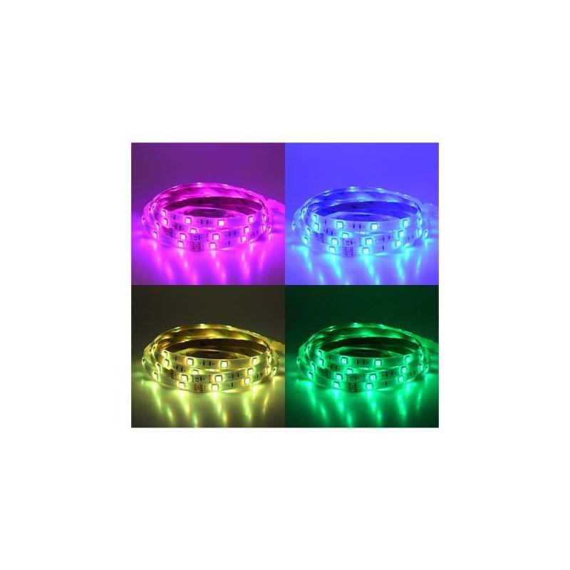 Ruban LED 30 LED/m IP65 7,2W/m RGB 5m...