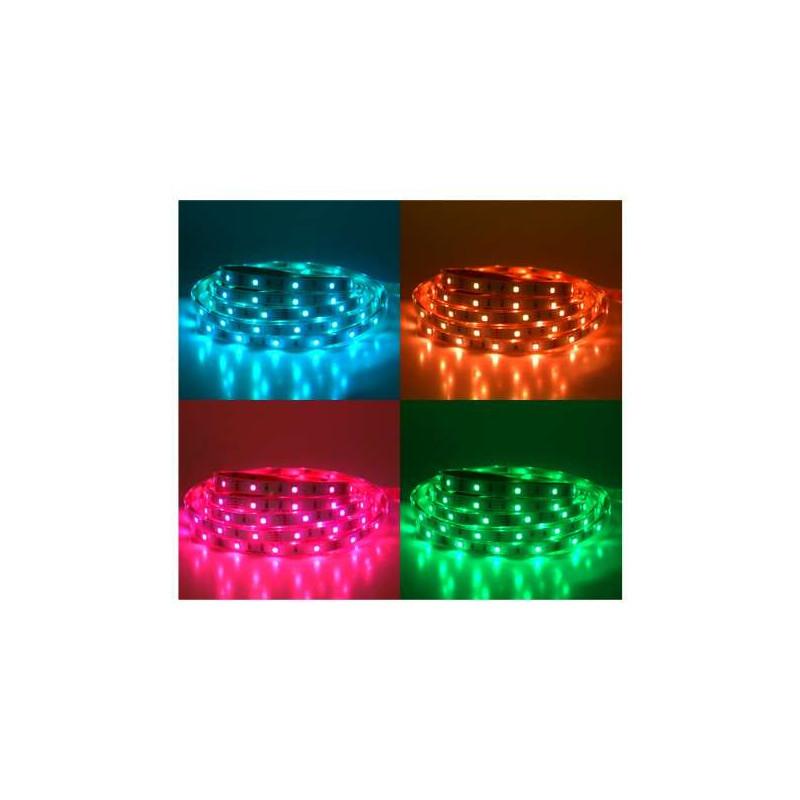 Ruban LED 30 LED/m IP67 7,2W/m RGB 5m...