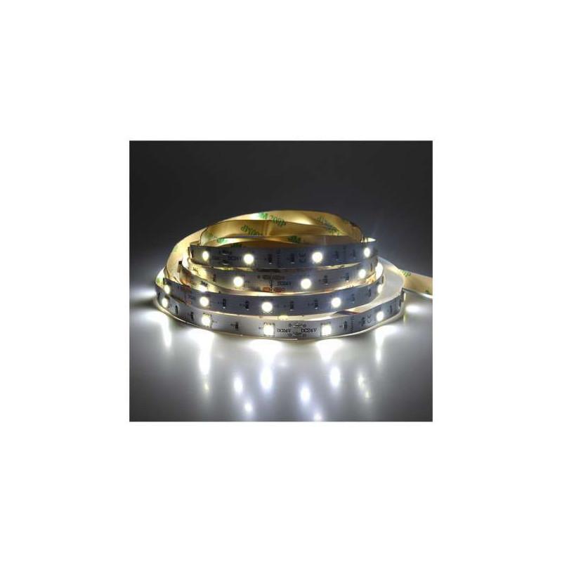 Ruban LED 30 LED/m IP20 7,2W/m Blanc...