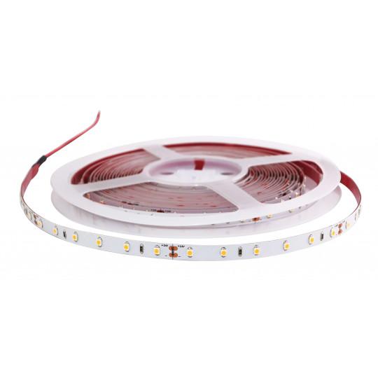 Ruban LED Blanc 24V 30 LED/m étanche 4,8W/m 5m