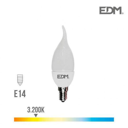 Ampoule LED E14 5W équivalent à 35W - Blanc Chaud 3200K