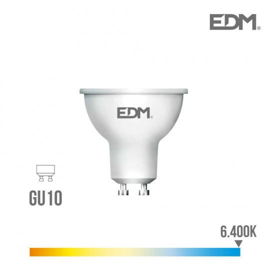 Spot LED GU10 5W Dicroïque équivalent à 35W - Blanc du Jour 6400K