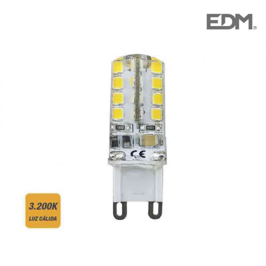Ampoule LED G9 2,5W équivalent à 25W - Blanc Chaud 3200K