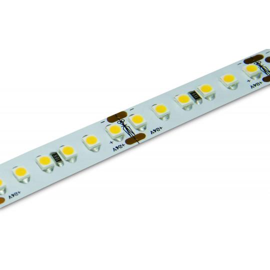 Ruban LED Blanc puissant 60LED/m 5m 14,4W/m étanche