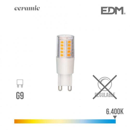 Ampoule LED G9 5,5W équivalent à 50W - Blanc du Jour 6400K