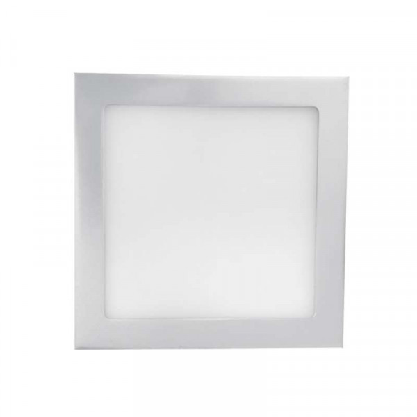 Spot LED encastrable extra plat 18W équivalent 100W carré