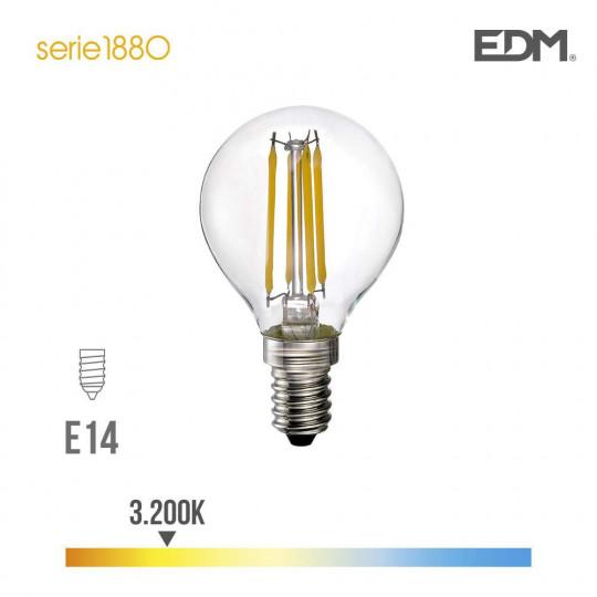 Ampoule LED E14 4W équivalent à 35W - Blanc Chaud 3200K