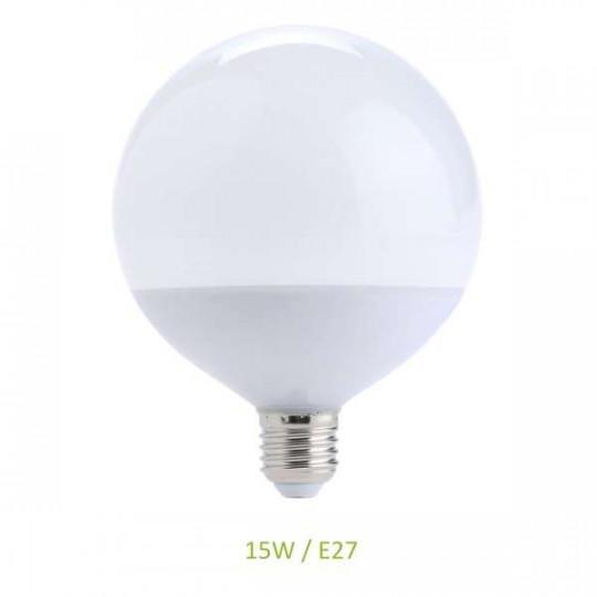 Ampoule E27 15W (eq. 100W) Globe G120 LED Ecolux