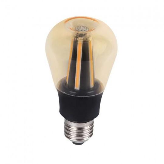 Ampoule LED 8W lumière 60W Apple Design Blanc Chaud (2700K)