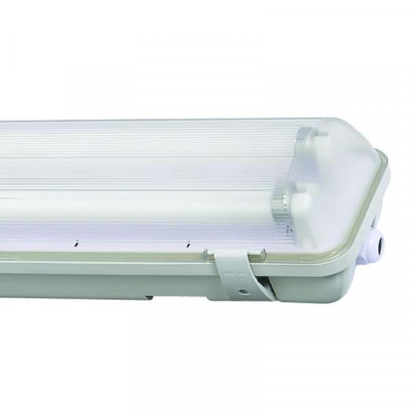 Boitier tube LED T8 étanche 2x1200mm