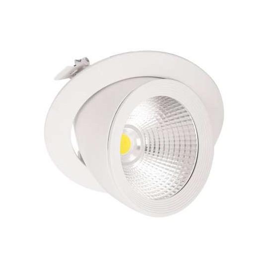 Spot LED Escargot Blanc...