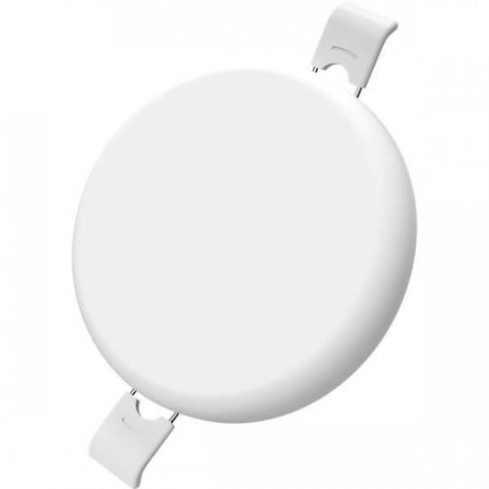 Downlight LED 9W étanche IP54 rond ∅90mm Blanc - Blanc Chaud 2700K