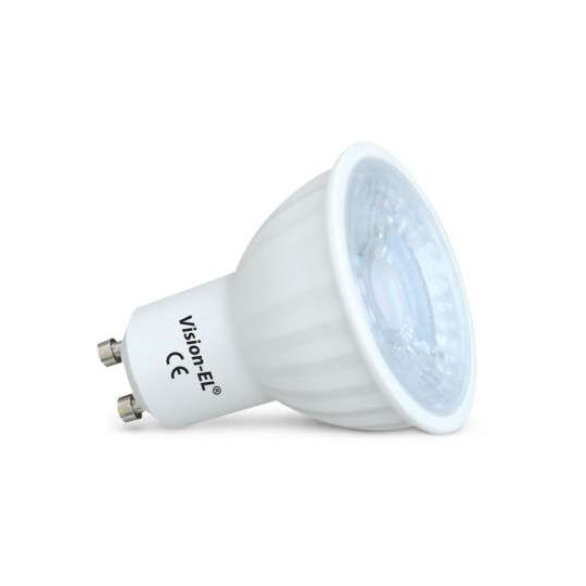 Spot LED GU10 COB 4W (éq 35W) Blanc du Jour 6000K