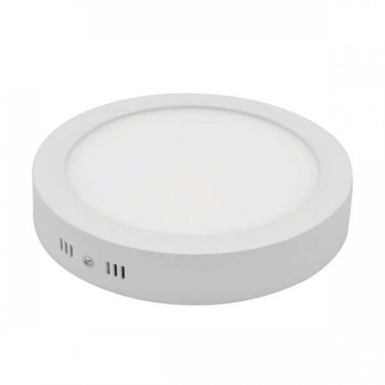 Plafonnier de surface LED 12W rond ∅172mm - Blanc du Jour 6000K