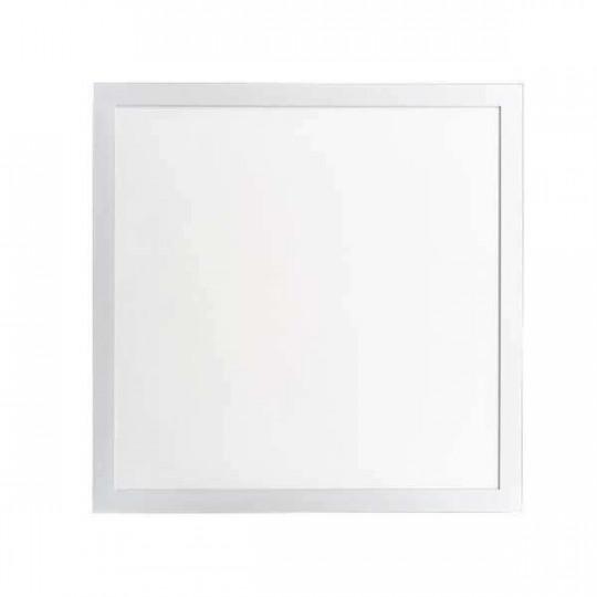 Dalle LED 25W carré 595mmx595mm Blanc - Blanc Naturel 4000K