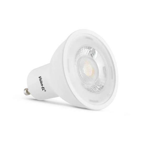 Ampoule LED GU10 5W équivalent 45W COB - Blanc Chaud 3000K
