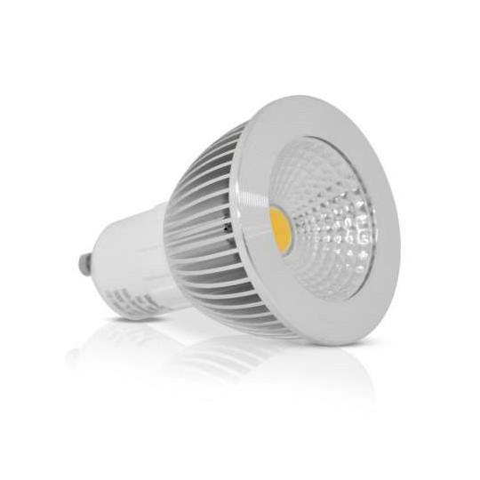 Spot LED GU10 6W Dimmable éclairage 60W - Blanc Chaud 3000K