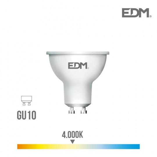 Spot LED GU10 5W Dicroïque équivalent à 35W - Blanc Naturel 4000K