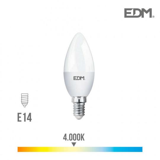 Ampoule LED E14 5W Bougie équivalent à 35W - Blanc Naturel 4000K