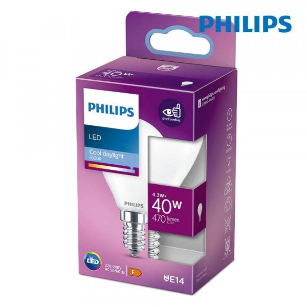Ampoule LED E14 4,3W équivalent à 40W - Blanc du Jour 6500K