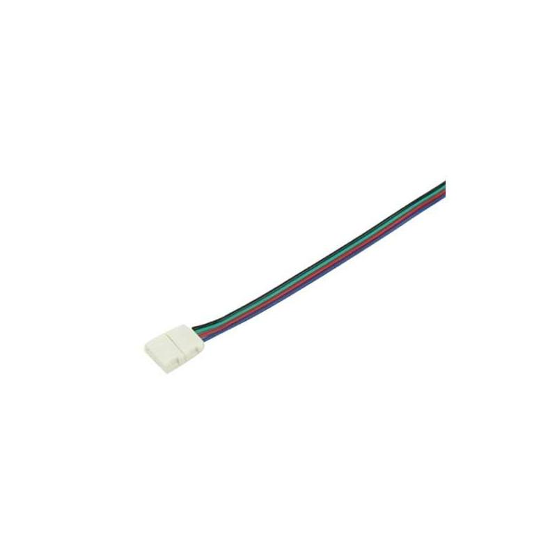 Câble connecteur pour ruban RGB+W 12mm