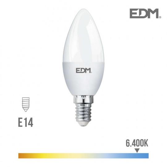 Ampoule LED E14 5W Flamme équivalent à 35W - Blanc du Jour 6400K
