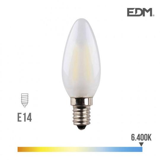 Ampoule LED E14 4,5W Bougie équivalent à 30W - Blanc du Jour 6400K